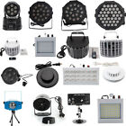 New 4/9/18/20/24//30/36/54W lED DMX512 Effect DJ Party Stage Lamp Wedding light