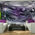Photo Wallpaper PURPLE SPARKLING BALLS ABSTRACT  Wall Mural (3257VE)