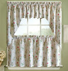 NEW Lorraine Home Fashions English Garden Tier Curtain, Valance or Swag Pair