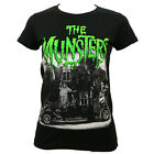Authentic UNIVERSAL THE MUNSTERS Family Coach Girls Juniors T-Shirt S-2XL NEW