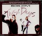 BON JOVI These Days  CD 4 Tracks, Edit/634 5789/Rocking In Free World-Live/Letti