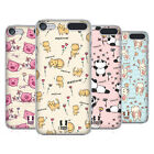 HEAD CASE DESIGNS CUTESY DOODLES HARD BACK CASE FOR APPLE iPOD TOUCH MP3