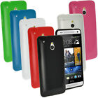 Glossy TPU Gel Skin Case Cover Holder for HTC One MINI M4 + Screen Protector
