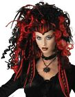 Adult Women Eternal Seductress Wig (Black/White) Halloween Scary Witch Wigs