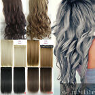 Double Thick 3/4 Full Head Weft Clip in Hair Extensions as remy human hair sm50