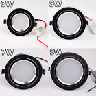 BLACK COVER 3w 5w 7w 9w LED Recessed Ceiling Light Downlight Bulb + Driver kit