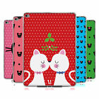 HEAD CASE DESIGNS CHRISTMAS CATS SOFT GEL CASE FOR APPLE SAMSUNG TABLETS