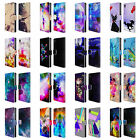 OFFICIAL HAROULITA FANTASY 2 LEATHER BOOK WALLET CASE COVER FOR SONY PHONES 1