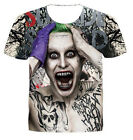 New Fashion Womens/Mens Batman Joker Creative Funny 3D Print T-Shirt US234
