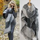 Schal Winter Thick Warm Wool Pashmina Cashmere Stole Scarves Scarf Shawl Wrap