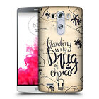 HEAD CASE DESIGNS VINTAGE TRAVEL JOURNAL HARD BACK CASE FOR LG PHONES 1