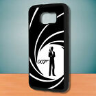 James Bond Agent 007 Fit For Black Samsung Galaxy Case Cover $10.99 USD