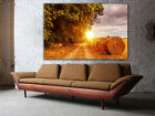 """Straw Bale Huge Canvas print, up to 60""""x40"""", READY TO HANG, wall art decoration"""