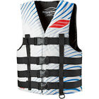 Slippery Hydro Nylon Life Vest White/Blue