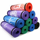 Yes4All Premium 72 Inch Exclusive Extra Thick Yoga Mat Printed Versions Strap