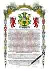 corma - Your Family Coat of Arms and History Manuscript Scroll - MC CALLION to MC CORMA