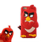 For Apple iPhone 6 6s & 6plus/6s+ ANGRY BIRDZ Animal 3D Cute Premium Back Case