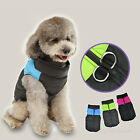 Cute Small Medium Pet Dog puppy Clothes Winter Warm Vest Jacket Coat Costume new