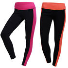 Womens Fitness Compression Leggings Yoga Pants Gym Trousers Workout Wear S-3XL