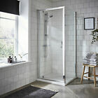 Premier Ella 700mm Pivot Shower Door With Tray, Waste & Enclosure Options