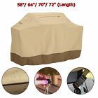 "Durable 58"" 64"" 70"" 72"" Heavy Duty Waterproof BBQ Barbeque Grill Cover Protector"