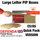 C5 A5 BOXES QUICK PACK PiP POSTAL LARGE LETTER Size QUALITY CARDBOARD MAILERS