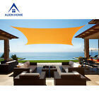 Waterproof Sun Shade Sail Alion Home© Brand Polyester  - Mango Yellow 8 Sizes