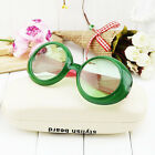 Baby Boys Girls Kids Round Dot Sunglasses Child Goggles Point Frame 4 Colors