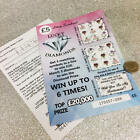 *NEW* Will you be my bridesmaid/maid of honour request Lottery scratch card.