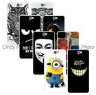 For HTC One A9 Hard Cover Case Superman Batman Mask Star Madness Rose Minions