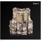 Adjustable Military Tactical Vest Paintball MOLLE Carrier Airsoft Combat SWAT