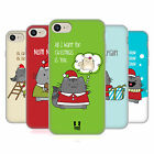 HEAD CASE DESIGNS WILBUR CHRISTMAS SOFT GEL CASE FOR APPLE iPHONE 7 / iPHONE 8
