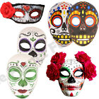 HALLOWEEN DAY OF THE DEAD SKELETON MEXICAN MASK EYEMASK FANCY DRESS COSTUME