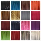 Faux Suede Flat Leather Smooth Cord Lace String 20 yards bundle 3mm