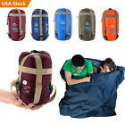 Outdoor Ultralight Envelope Sleeping Bag Travel Hiking Camping Multifuntion Tool