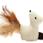 New 1x Kitten Play Length Interactive Toy Cat Teaser Wand Pet Mouse Ball Feather