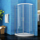 Offset Quadrant Shower Enclosure Tall Walk In Shower Cubicle 6mm Glass Door