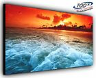 Escape Panoramic Canvas Print Modern Art 4 Sizes to Choose - Ready to Hang