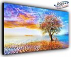 Lonely Tree Panoramic Canvas Print Modern Art 4 Sizes to Choose Ready to Hang
