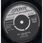 "LITTLE EVA Locomotion 7"" VINYL 4 Prong Black/silver Label Design B/w He Is The"
