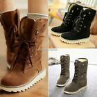 Womens Winter Ankle Boots Low Heels Fashion Boots Autumn Winter Boots Shoes N98B