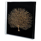23.6X23.6'' Framed Modern wall art sea fan 3D shadow box wall decor home gift