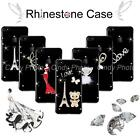 """For ZTE Blade X9 5.5"""" DIY Rhinesone Crystal Hard Clear Bling Luxury Case Cover"""