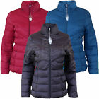 New Ladies Womens BHS Puffer Puffa Jacket Red Teal Black Padded Hooded Hood