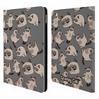 OFFICIAL GRUMPY CAT GRUMPMOJI LEATHER BOOK WALLET CASE COVER FOR APPLE iPAD