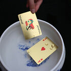 Fashion Appealing High Grade Silver Gold Foil Poker Playing Cards Waterproof  JR