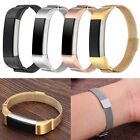 Stainless Steel Watch Band Wrist Strap Magnetic Milanese Loop For Fitbit Alta AU