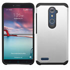 ZTE ZMAX PRO Z981 / Grand X Max 2 - HARD TPU HYBRID HIGH IMPACT ARMOR CASE COVER