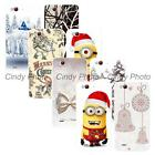 For ZTE Nubia Z7 Max NX505J New Year Christmas Reindeer Hard Plastic Cover Case
