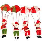 Christmas Xmas Tree Hanging Decoration Parachute Snowman Santa Claus Orna #Cu3